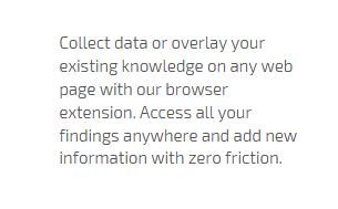 easy collection of online data
